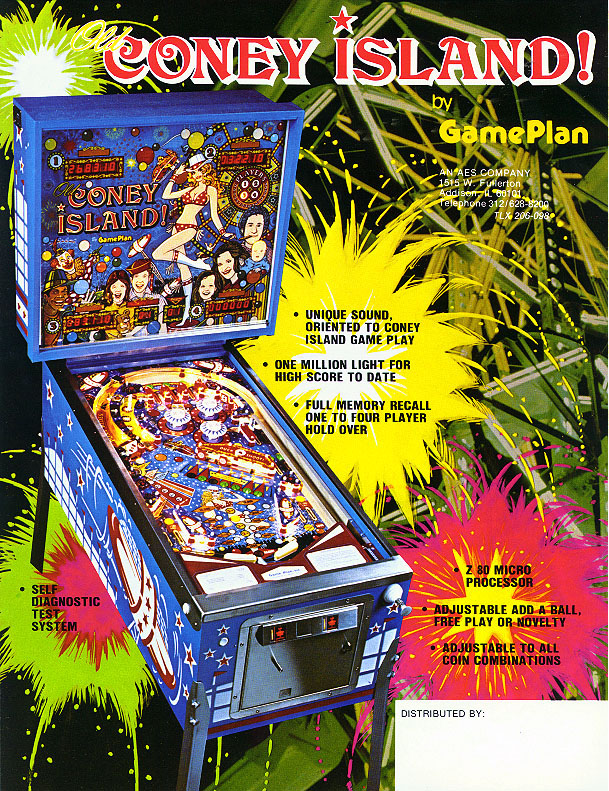 Game Plan Coney Island! Flyer