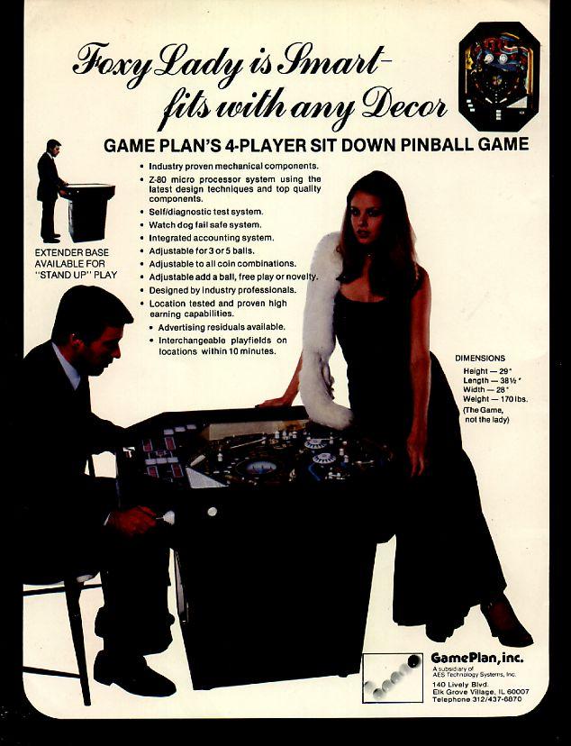 Game Plan Foxy Lady Flyer