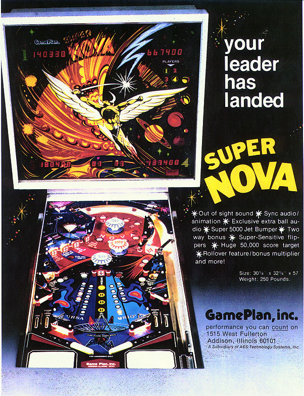 Game Plan Super Nova Flyer